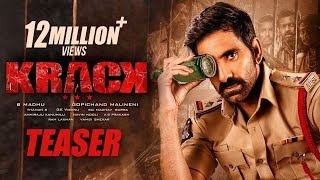 Krack Movie Teaser - Raviteja, Shruti Hassan..