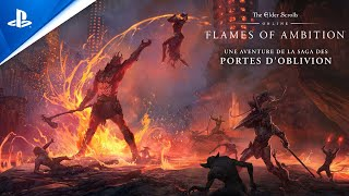 The elder scrolls online: flames of ambition :  bande-annonce