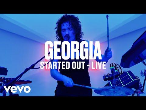 Georgia - Started Out (Live) - Vevo DSCVR