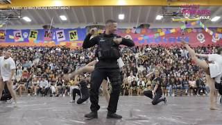School Resource Officer says goodbye with an unforgettable performance