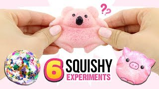 THE BEST DIY SQUISHY MAKING METHODS!! Slime & Squishy GIVEAWAY! 6 DIYs On How To Make Squishies!