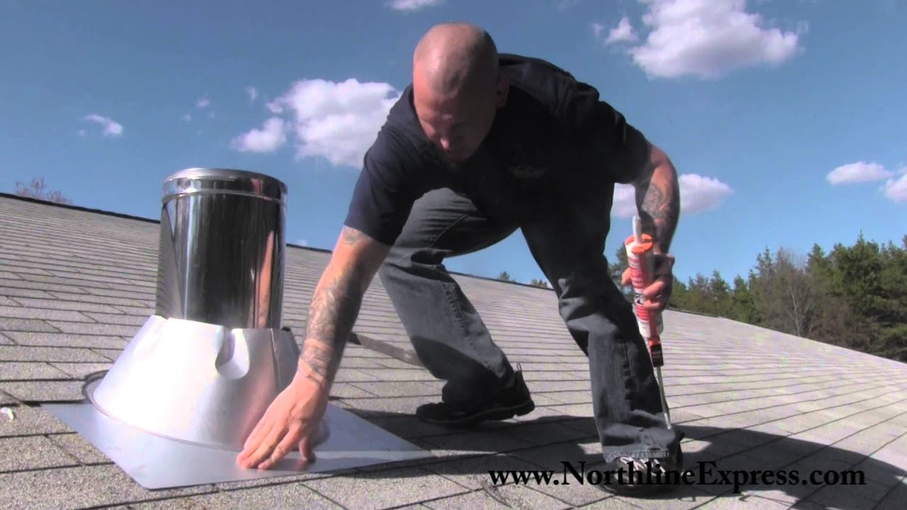 Duravent Chimney Pipe How To Install A Duravent Chimney