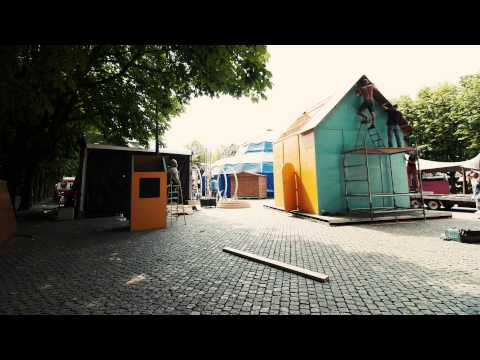 Time lapse afbouw vogelhuis Mees - Theaterfestival Boulevard