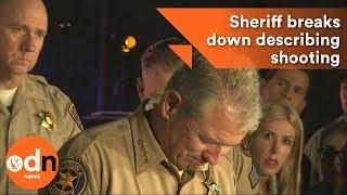 California Sheriff breaks down describing shooting