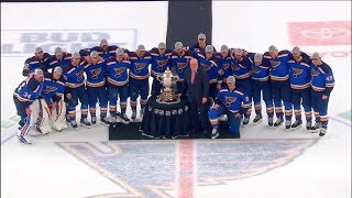 NHL Now:  Looking back at the Blues' Gloria - inspired turnaround  Jun 1,  2019