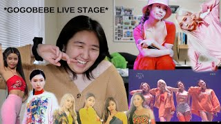 MAMAMOO GOGOBEBE (고고베베) COMEBACK STAGE REACTION