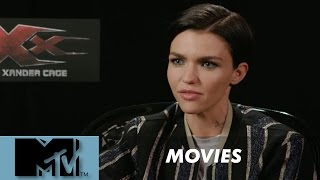 Ruby Rose - it's weird AF being interviewed by MTV l MTV MOVIES