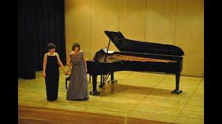 Franz Schubert - Fantasy in F minor Op.103 - Anus Cividian & Pia Rojas