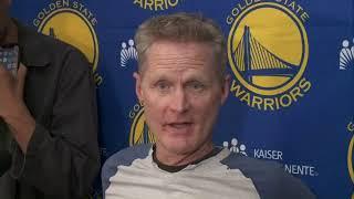 Warriors hold season-ending press conference