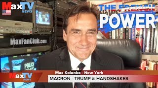Macron shakes up Trump - Francja silna jak Makaron CC ENG