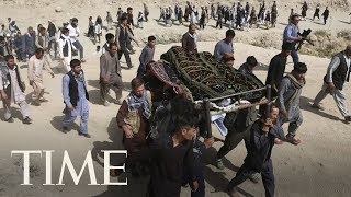 Gunmen Besiege Intelligence Facility In Kabul, Afghanistan Mourns Victims Of Suicide Bombing   TIME