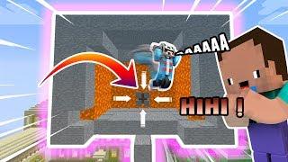 Khi Noob Troll Oops Mazk Bằng Máy Hút Đồ Vật Trong Minecraft !!!
