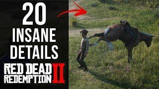 20 INSANE Details in Red Dead Redemption 2 (Part 1)