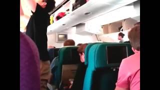 [ORIGINAL] Last Video Footage Taken On Flight MH17 Before Shot Down