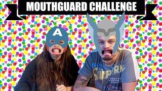 Mouthguard Challenge   Kristin & Dennis   YouTube-Søndag