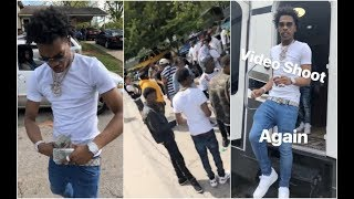 Lil Baby Goes To The Southside To Shoot his New Music Video