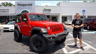 Is the 2019 Jeep Wrangler Sport the BEST BANG for your BUCK?