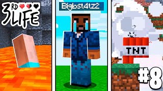 SO MUCH DEATH! l Minecraft 3rd Life SMP l EP.8