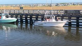 Canaveral Locks Open 2 1/2 hours late on 8/19/2018, last day of 6 day Red Snapper Season