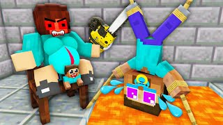 Monster School : Bad Mother Brewing Baby Herobrine (Poor Zombie Life) Bad Family Minecraft Animation