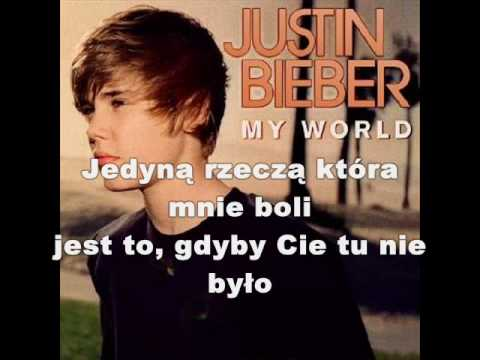 Justin Bieber - Common denominator - tłumaczenie pl