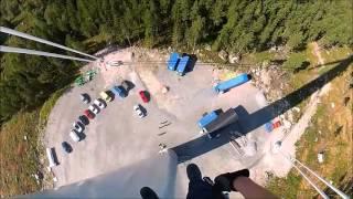 Emergency evacuation traning on a Mervento 3.6-118 wind turbine