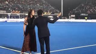 Hockey World Cup Final 2018 : Sachin Tendulkar attend finals in Bhubaneswar