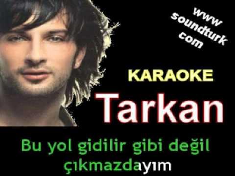 Tarkan - Unut Beni karaoke