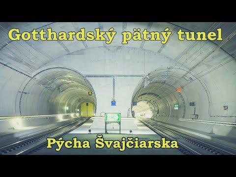 Najdlhší tunel na svete s dĺžkou 57 km