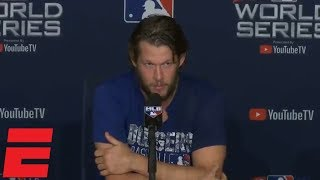 Clayton Kershaw talks Dodgers' World Series loss vs Red Sox, future | MLB Sound