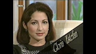 [Rare] Gloria Estefan at home interview 1994 Dutch TV