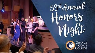Orange Coast College Honors Night 2017