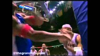 Kenyon Martin vs. Corey Maggette fight