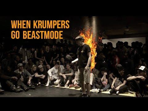 When KRUMPERS Go BEASTMODE   Dance Battle Compilation 🔥