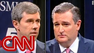 Ted Cruz, Beto O'Rourke spar in first debate