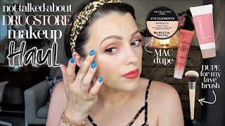 DRUGSTORE MAKEUP HAUL // Try On + First Impressions
