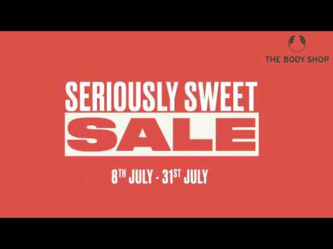 Time for a Seriously Sweet Sale! Up to 50%* off | The Body Shop India