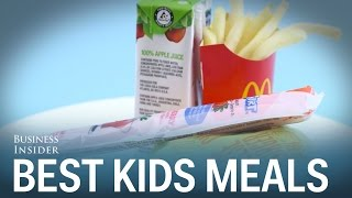 We tried the kids' meals at the biggest fast food chains — here's the best one