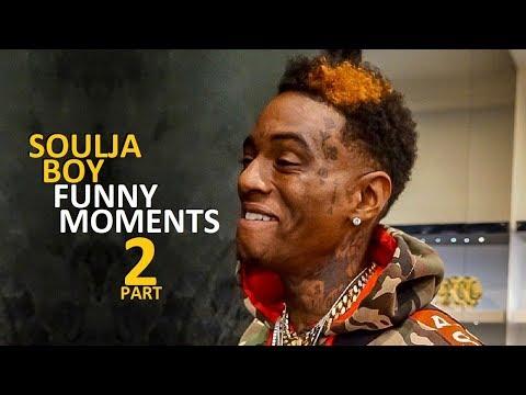 Soulja Boy FUNNY MOMENTS Part 2 (BEST COMPILATION)
