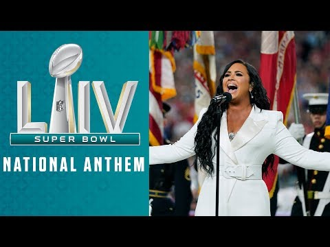 Demi Lovato Sings the National Anthem | Super Bowl LIV Pre