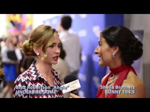 Go Under the Dome with Britt Robertson - YouTube