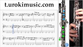 หัดเล่นโอโบ DAX ROCK RIDER - อย่าปล่อยมือฉันได้ไหม ตัวโน๊ต สอนเล่นโอโบ um-hli796