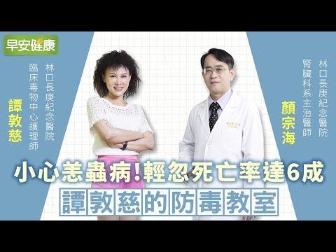 小心恙蟲病!輕忽死亡率高達6成︱譚敦慈 X 顏宗海【早安健康】