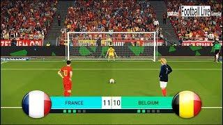PES 2018 | FRANCE vs BELGIUM | Penalty Shootout | Hazard vs Griezmann | Gameplay PC