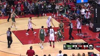 3rd Quarter, One Box Video: Toronto Raptors vs. Milwaukee Bucks