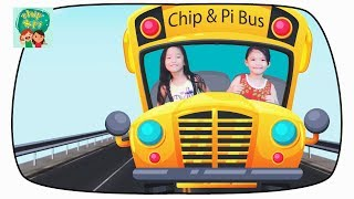 Learn Colors with School Bus Children ABC Song and Finger Family for Kids Children