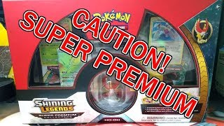 OPENING THE NEW POKEMON SHINING LEGENDS SUPER PREMIUM COLLECTION BOX!