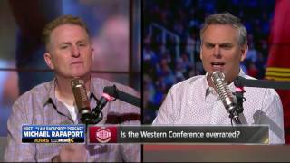 Michael Rapaport rants on Westbrook & Lebron James and his LAZY antics,