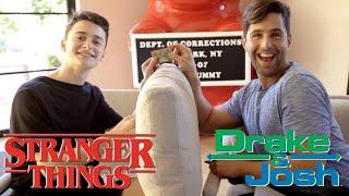 STRANGER THINGS Vs DRAKE AND JOSH!!