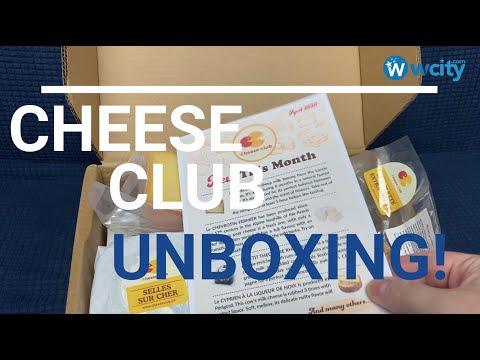 Unboxing of Cheese Club in Hong Kong